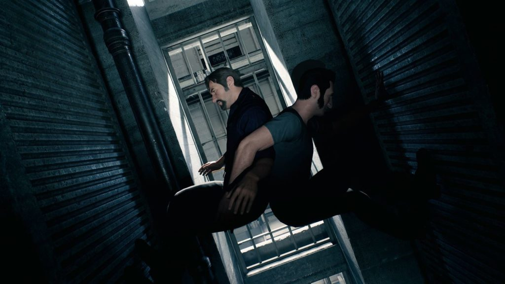 A Way Out climb up scene